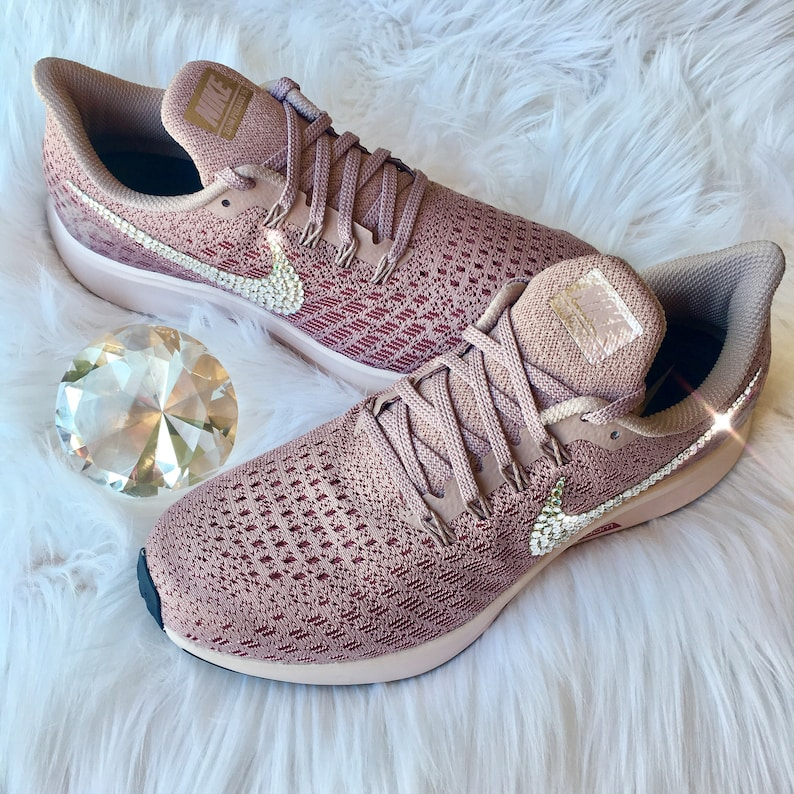 NEW Bling Nike Air Zoom Pegasus 35 Shoes with Swarovski  2c2fe6759ff4