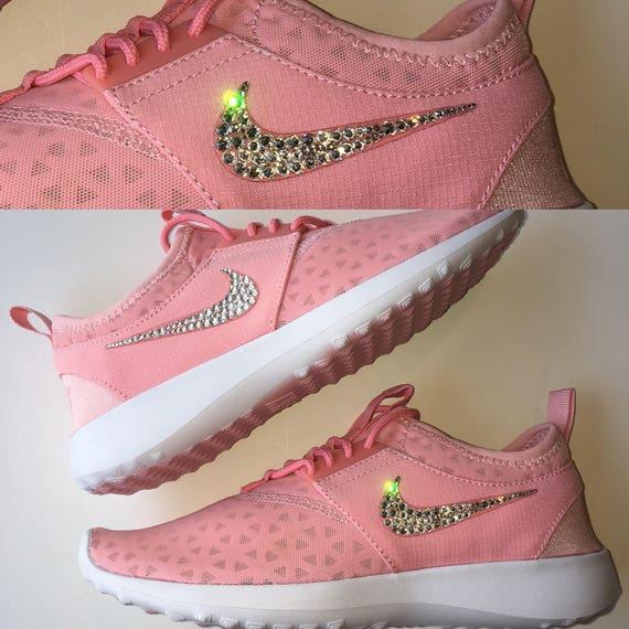 Bling Nike Juvenate Shoes with Swarovski Crystals Melon Pink  482e0e1f7794