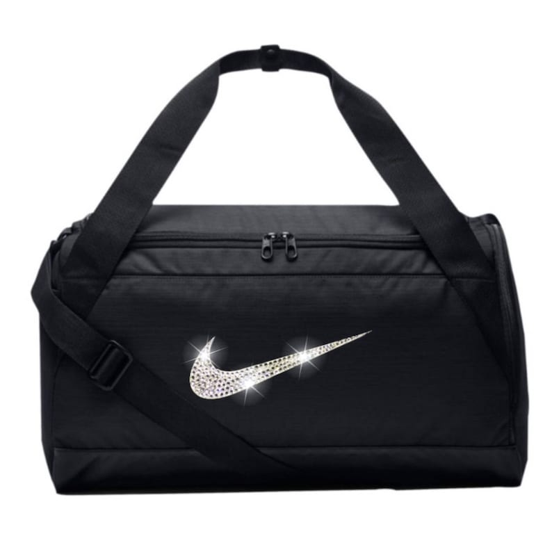 39e1b0cd2f661 Bling Nike Brasilia Turnbeutel mit Swarovski-Kristall