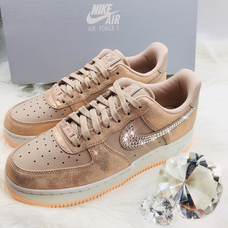 separation shoes 00179 10637 NOUVEAU Bling Nike Air Force 1   07 Premium chaussures   Etsy