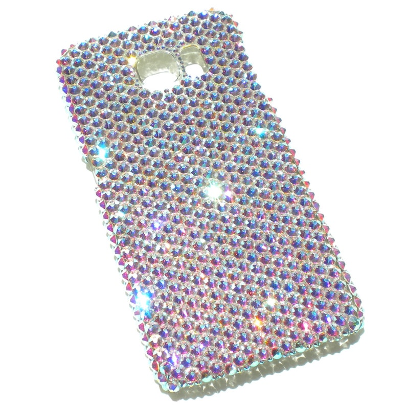 separation shoes 11a70 e1f71 Bling Swarovski Case For Samsung Galaxy S10 Plus - Iridescent Crystal AB  Rhinestone BLING Back Case handmade with Swarovski Crystals