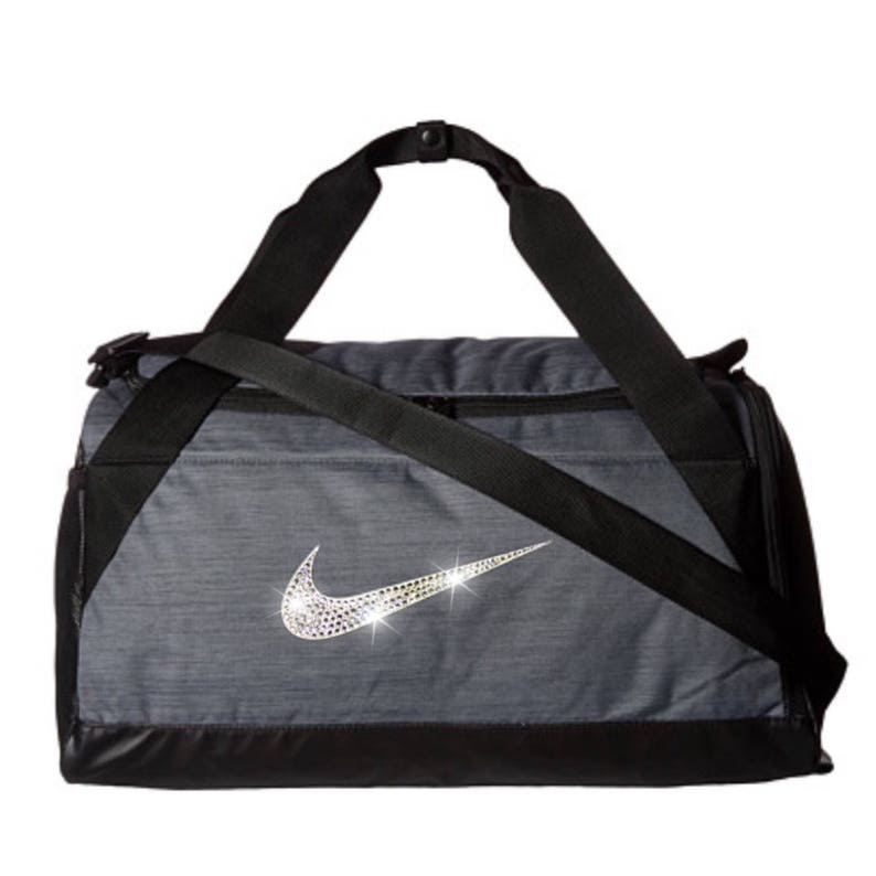 1706e8d182 Bling Nike Brasilia Gym Bag with Swarovski Crystal Bedazzled