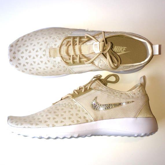 Bling en STOCK avec avoine nue Nike Chaussures blanc EN Nike nbsp; Crystals de Juvenate Swarovski qXdH7Hw