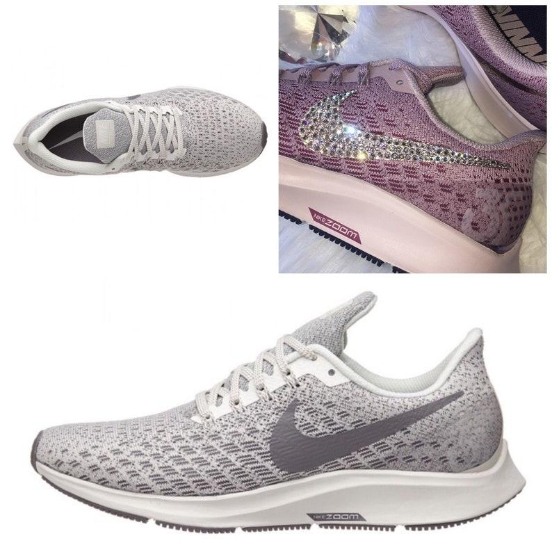 c2981b4f04b NEW Bling Nike Air Zoom Pegasus 35 Shoes with Swarovski