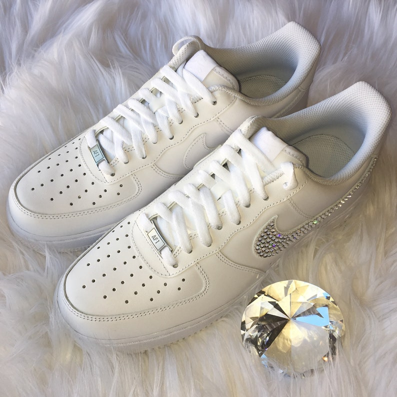 Bling Nike Air Force 1  07 with Swarovski Crystals ALL  f96ea0a861