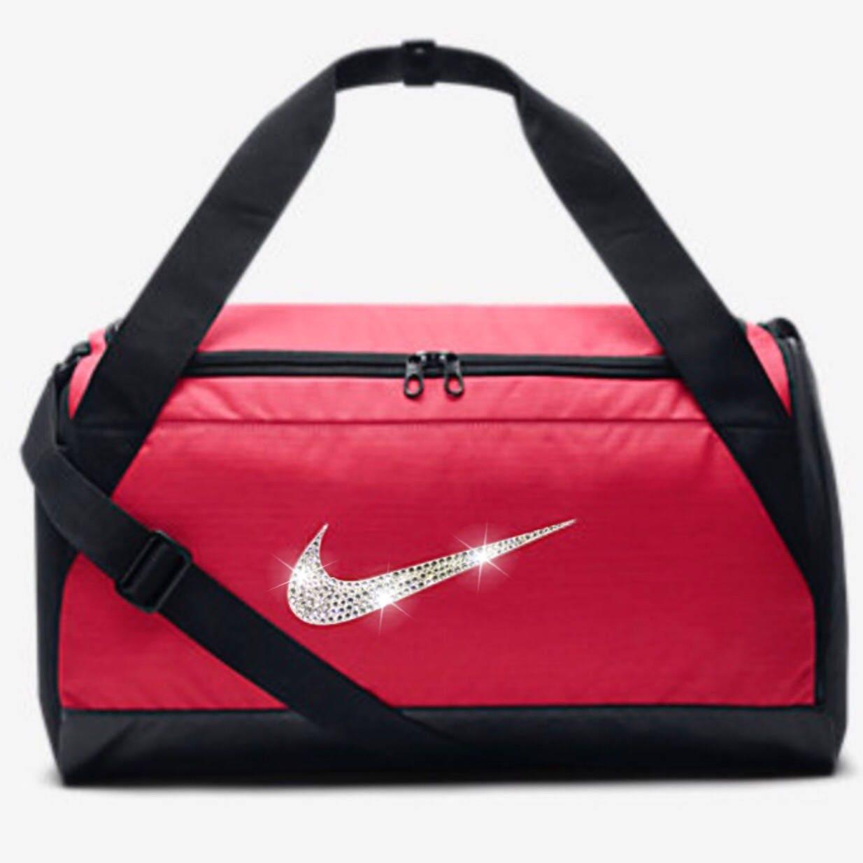 71f0a53436c9 Bling Nike Brasilia Gym Bag with Swarovski Crystal Bedazzled