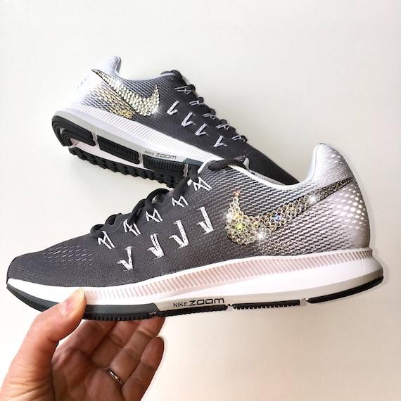 Bling Nike Air Zoom Pegasus 33 Shoes with Swarovski Crystals  df008b494