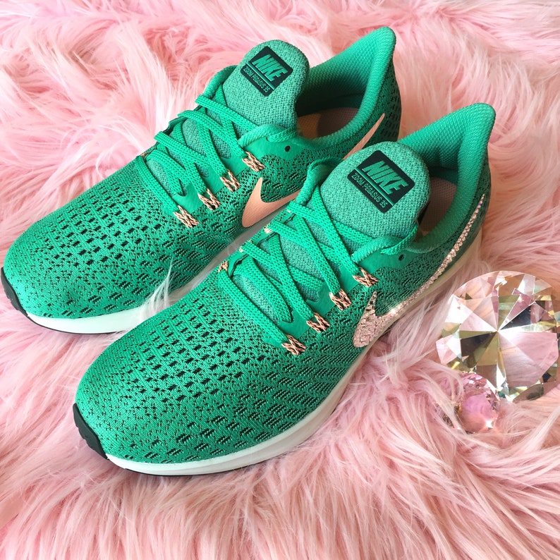43074d2fa433 NEW Bling Nike Air Zoom Pegasus 35 Shoes with Swarovski