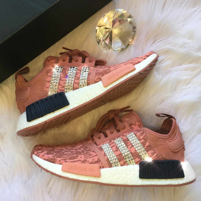 576f0e6fcab15 Bling Adidas NMD with Swarovski Crystals Women s