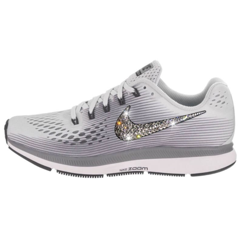 0e0d8858b20a NEW Bling Nike Air Zoom Pegasus 34 Shoes with Swarovski