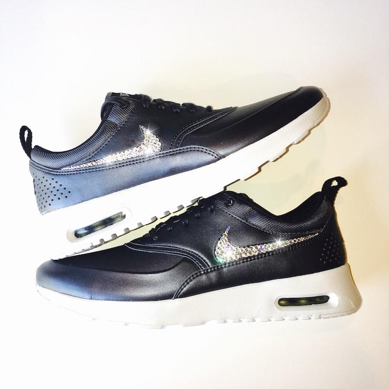 19590c4ed7162 Jet hematites Bling Nike Air Max Thea metálico SE zapatos con