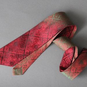 Dress Tie Superra Free Shipping 50s 60s Blue Paisley Swing Tie Vintage Gogovintage VLV Rare Tie Slim Tie