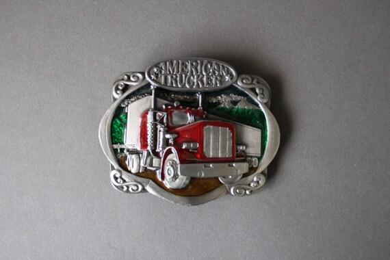 Statue of Liberty Belt Buckle 1985 Bergamot Brass Works Veteran Gift Patriotic Gift