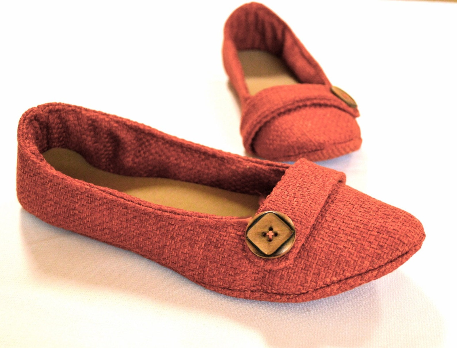 women's ballet flat sewing pattern digital download in 5 different styles - includes sizes women's size 4 - 14 1/2