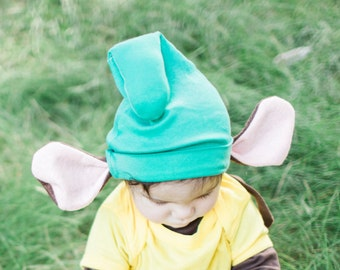 Gus Gus Cosume, Little Mouse Baby Costume, Baby Costume, Princess Costume, Sibling Costume, First Costume, Halloween Costume, Toddler hat
