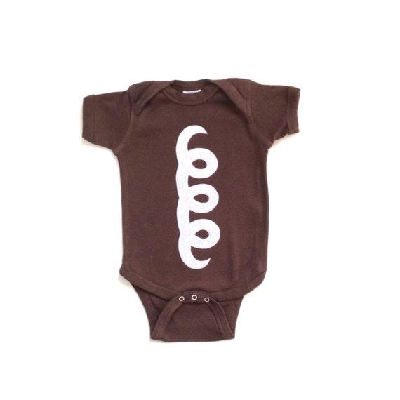 Hostess Cupcake Baby Bodysuit for Halloween