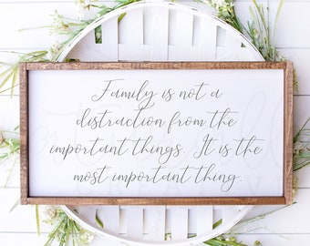 Family Is The Most Important Thing - SVG, PNG, and JPEG files