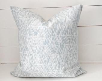 Blue Diamonds Pillow Cover
