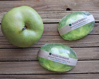 Apple Orchard Soap   Apple Scent   Handmade Soap   4 oz bar - Discontinued