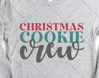 Cookie Baking Crew SVG, Christmas Baking Shirt, Christmas SVG, Christmas Cookie SVG, Cooking Baking svg, Christmas Cookie Crew Shirt, png
