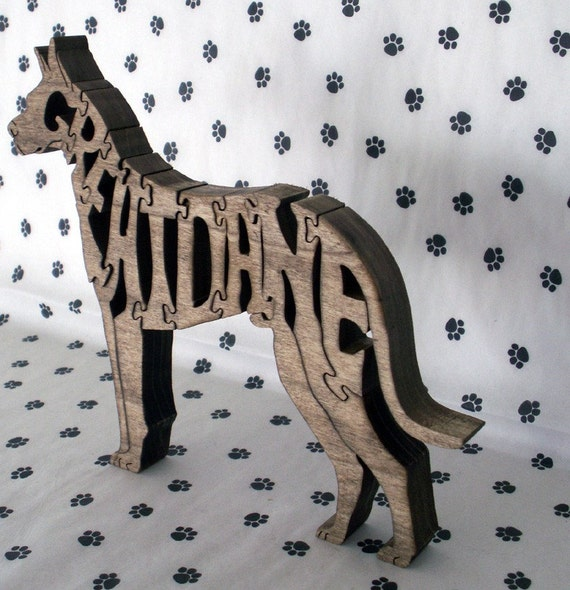 Boxer with Cropped Ears Fretwork Puzzle