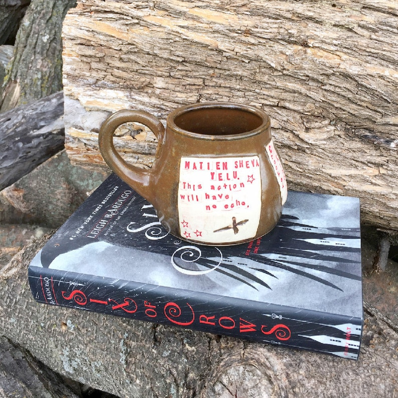 Large Mug-This Action Will Have No Echo-Crooked Kingdom-Leigh image 0