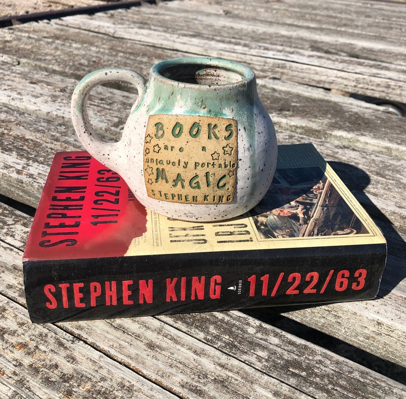 Large Literary Mug Books Are Uniquely Potable Magic Stephen image 0