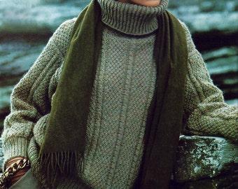 sweater pattern - knitting pattern - 80s sweater - instant download - Irish knit sweater pattern - pdf knitting patterns - oversized sweater