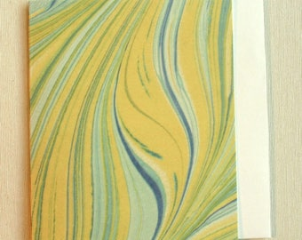 Note Card PC006 Printed Marbled Design from Brooklyn Marbling