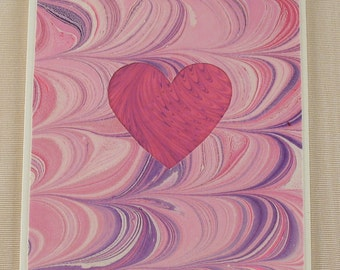 SHC103  Pinks and Purples enhance the waves of love from your heart.