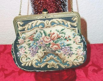 Tapestry Clutch Made In Austria - Purse - Handbag