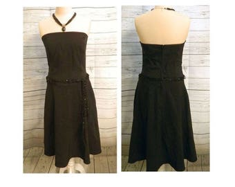 c74a483492 Charlotte Russe Black Strapless Dress - FREE SHIPPING