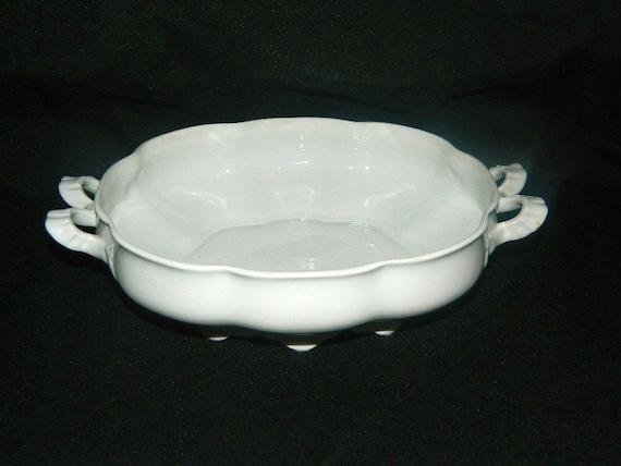 M Z Austria Habsburg China Oval Serving Bowl Antique 1900 Etsy