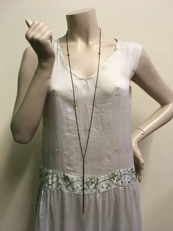Vintage 1920's Rayon Flapper dress