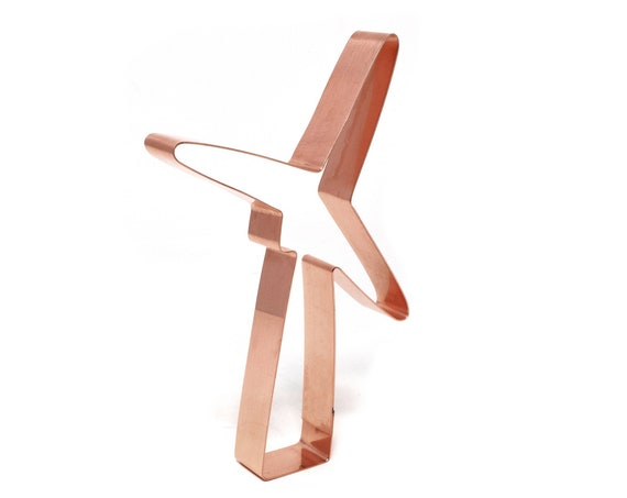 Turbine / Windmill ~ Copper Cookie Cutter ~ Handcrafted by The Fussy Pup