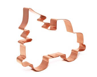 Steer Skull ~ Copper Cookie Cutter ~ Handcrafted by The Fussy Pup