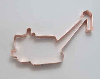 Copper Cookie Cutter Etsy