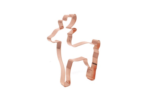 Christmas Deer Reindeer Cookie Cutter - Handcrafted by The Fussy Pup