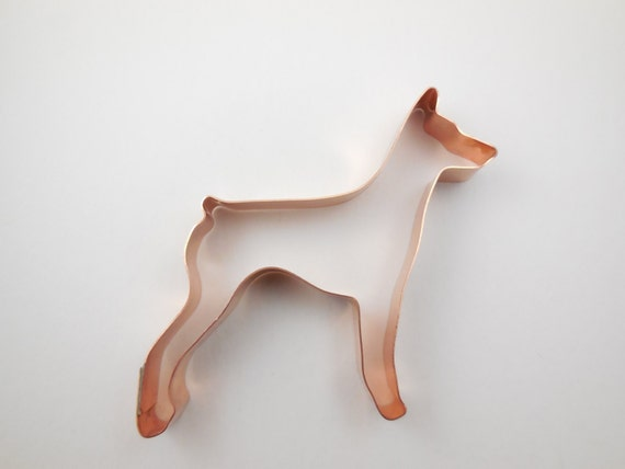 German Pinscher Dog Breed Cookie Cutter - Handcrafted by The Fussy Pup