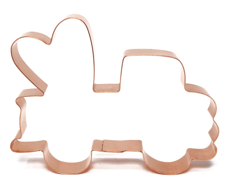 Grandpa/'s Sweetheart Farm Truck ~ Copper Cookie Cutter Handcrafted by The Fussy Pup