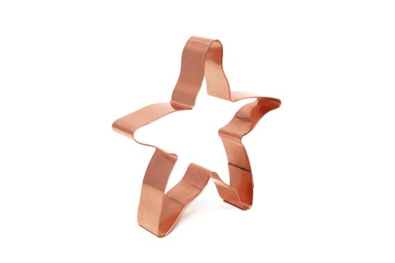 Beach Starfish ~ Copper Cookie Cutter - Handcrafted by The Fussy Pup