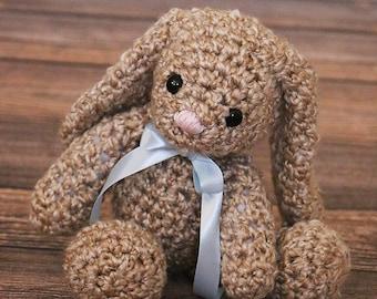 Cute Floppy Bunny Toy - Crochet Baby Bunny Toy - Easter Gift - Amigurumi Stuffed Bunny - Soft Bunny Plush - New Baby Gift - Baby Shower