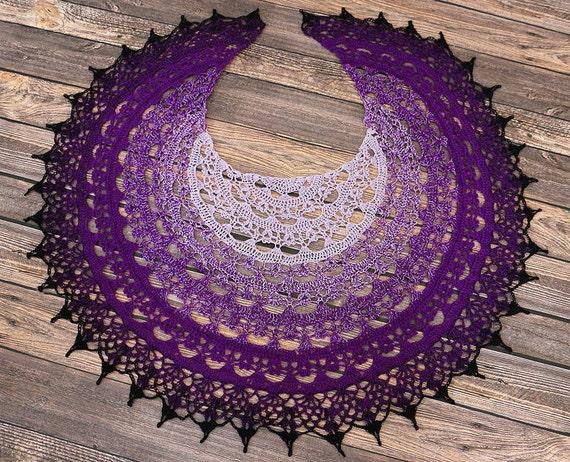 Rad der Zeit häkeln Schal großes Geschenk Damen Schal | Etsy