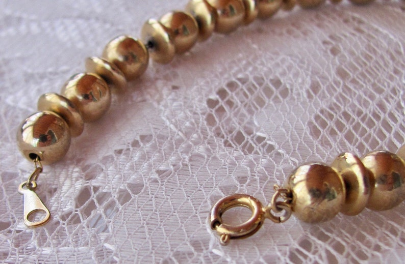 Gold plated Necklace and Assorted Earrings Vintage 80/'s