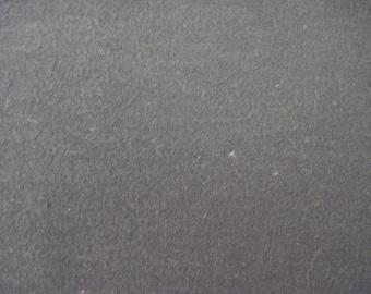 Black Flannel Fabric 2 1/8 yd.