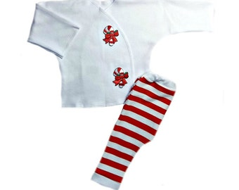 Oh Christmas Tree Baby Pants Shirt Clothing Outfit 4 Preemie and Newborn Sizes