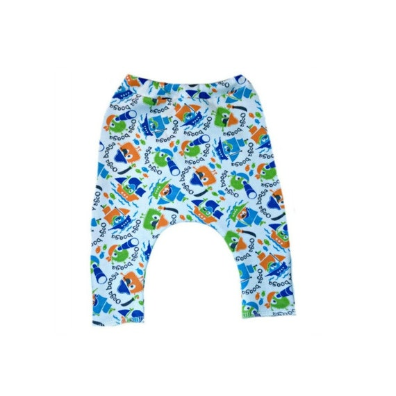 7 Sizes Jacquis Baby Boys OOGA Booga Pirate Shorts Made in The USA