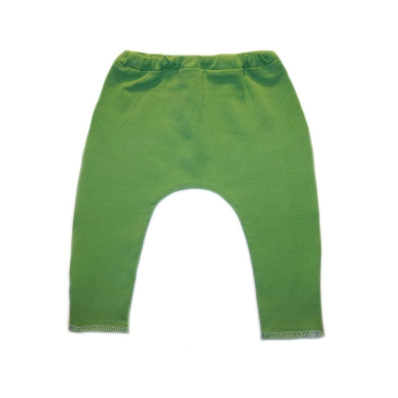 Elastic Waist. Newborn and Toddlers up to 24 Months Cotton Spandex Pants with a Soft Stretch Lime Green Baby Leggings 6 Sizes for Preemie