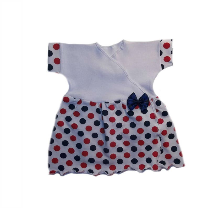 2fa5d6d163402 Baby Girls' USA Dotty Dots Sassy Dress Dress. 4 Sizes | Etsy