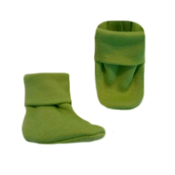 Crib Shoe Socks Unisex Baby Red Booties 5 Preemie and Newborn Sizes